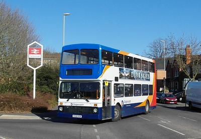 Stagecoach Hants & Surrey 16632 - P232VCK - Farnborough (Main rail station) - 2.4.13