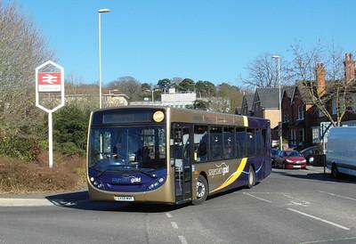 Stagecoach Hants & Surrey 22742 - GX58MVF - Farnborough (Main rail station) - 2.4.13