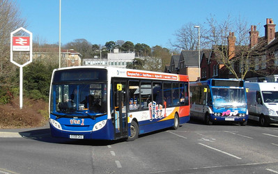 Stagecoach Hants & Surrey 36051 - GX58GKZ - Farnborough (Main rail station) - 2.4.13
