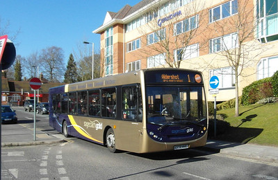 Stagecoach Hants & Surrey 22741 - GX58MVE - Farnborough (Main rail station) - 2.4.13