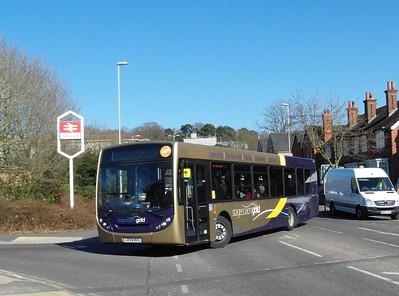 Stagecoach Hants & Surrey 22750 - GX58MVO - Farnborough (Main rail station) - 2.4.13