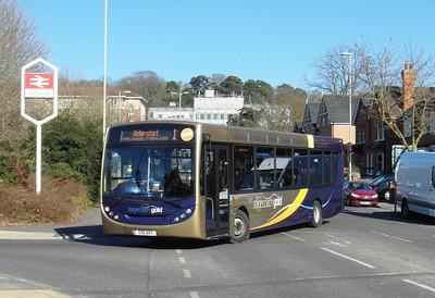 Stagecoach Hants & Surrey 27755 - GX11AKY - Farnborough (Main rail station) - 2.4.13