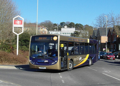 Stagecoach Hants & Surrey 22745 - GX58MVJ - Farnborough (Main rail station) - 2.4.13