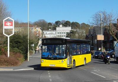 Stagecoach Fleet Buzz 34239 - Y239FJN - Farnborough (Main rail station) - 2.4.13