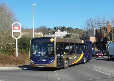 Stagecoach Hants & Surrey 22744 - GX58MVH - Farnborough (Main rail station) - 2.4.13