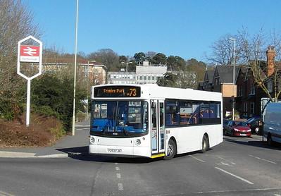 Stagecoach Fleet Buzz 34253 - Y253FJN - Farnborough (Main rail station) - 2.4.13
