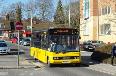 Stagecoach Fleet Buzz 47739 - MX08UZL - Farnborough (Main rail station) - 2.4.13