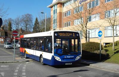 Stagecoach Hants & Surrey 39651 - GX08HBN - Farnborough (Main rail station) - 2.4.13
