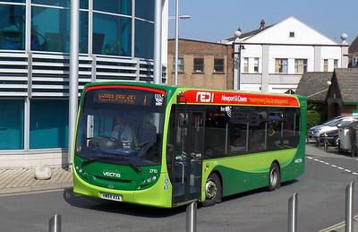 2710 - HW64AXA - Newport (bus station)