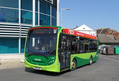2709 - HW64AWZ - Newport (bus station)