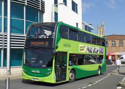 1594 - HW63FHR - Newport (bus station)