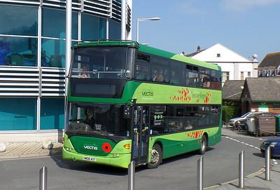 1104 - HW08AOT - Newport (bus station)