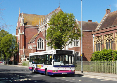 First Hants & Dorset 40825 - R645DUS - Portsmouth (Edinburgh Road) - 6.5.13