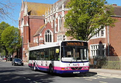 First Hants & Dorset 66205 - S805RWG - Portsmouth (Edinburgh Road) - 6.5.13