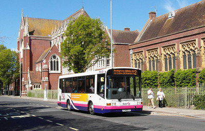 First Hants & Dorset 41346 - V346DLH - Portsmouth (Edinburgh Road) - 6.5.13