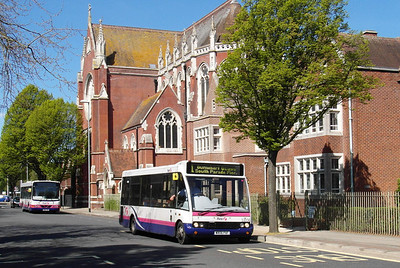 First Hants & Dorset 53006 - W806PAF - Portsmouth (Edinburgh Road) - 6.5.13