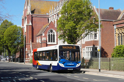 Stagecoach South 27562 - GX58GNJ - Portsmouth (Edinburgh Road) - 6.5.13