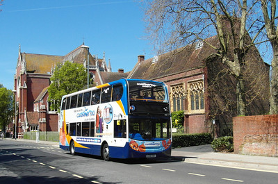 Stagecoach South 15604 - GX10HBO - Portsmouth (Edinburgh Road) - 6.5.13