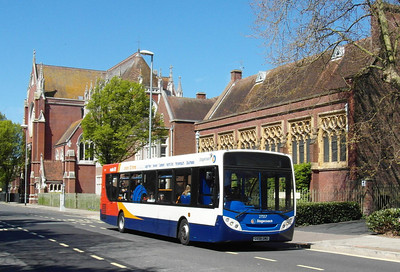 Stagecoach South 27557 - GX58GMU - Portsmouth (Edinburgh Road) - 6.5.13