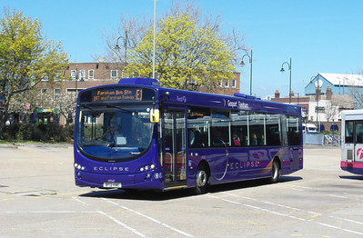 First Hants & Dorset 69542 - BF12KWE - Gosport Ferry - 6.5.13