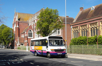 First Hants & Dorset 52517 - S517RWP - Portsmouth (Edinburgh Road) - 6.5.13