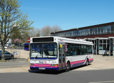 First Hants & Dorset 42129 - S629KTP - Gosport Ferry - 6.5.13