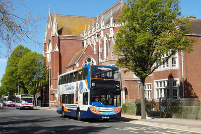 Stagecoach South 15599 - GX10HBH - Portsmouth (Edinburgh Road) - 6.5.13
