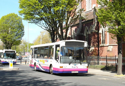 First Hants & Dorset 41636 - R636VLX - Portsmouth (Edinburgh Road) - 6.5.13