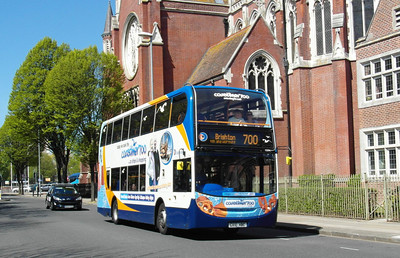 Stagecoach South 15594 - GX10HBC - Portsmouth (Edinburgh Road) - 6.5.13