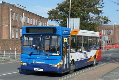 Stagecoach South 34528 - GX04EYA - Chichester (Basin Road)