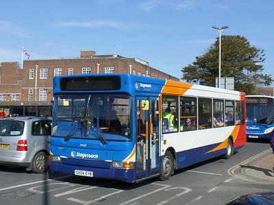 Stagecoach South 34529 - GX04EYB - Chichester (Basin Road)