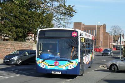 Stagecoach South 27741 - GX11AKU - Chichester (Basin Road)