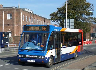 Stagecoach South 47645 - GX58GJU - Chichester (Basin Road)