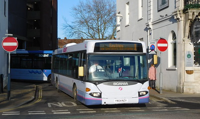 First Solent 65021 - YN54NZV - Portsmouth (The Hard)