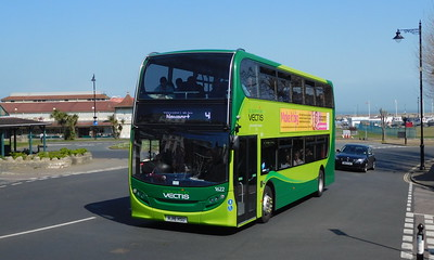 Southern Vectis 1622 - HJ16HSU - Ryde (Dover St)