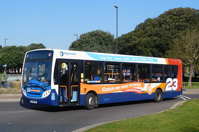 Stagecoach in Portsmouth 27563 - GX58GNK - Southsea (Duisburg Way)