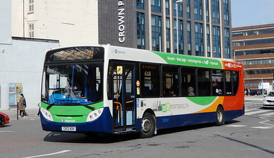 Stagecoach in Portsmouth 27863 - GX13AOH - Portsmouth (Station St)