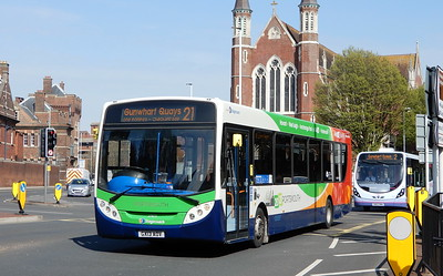 Stagecoach in Portsmouth 27875 - GX13AOV - Portsmouth (Queen St)
