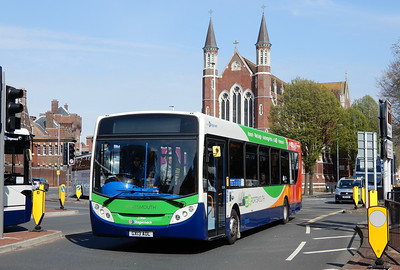 Stagecoach in Portsmouth 27866 - GX13AOL - Portsmouth (Queen St)