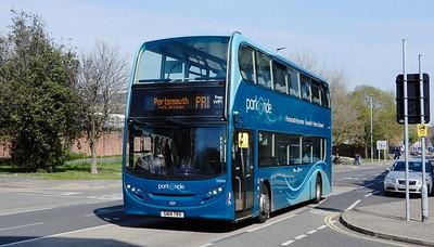 First Solent 33896 - SN14TRV - Portsmouth (Queen St)