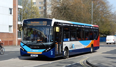 Stagecoach in Portsmouth 26154 - SN67WVY - Portsmouth (Queen St)