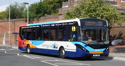 Stagecoach in Portsmouth 26159 - SN67WWD - Portsmouth (Queen St)