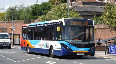 Stagecoach in Portsmouth 26150 - SN67WVU - Portsmouth (Queen St)