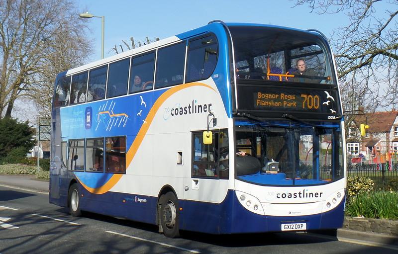 Stagecoach South 10008 - GX12DXP - Havant (Elm Lane)