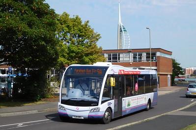 First Solent 53607 - YJ14BKL - Gosport (bus station)