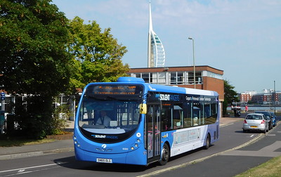 First Solent 63303 - SN65OLG - Gosport (bus station)