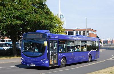 First Solent 69552 - BF12KWP - Gosport (bus station)