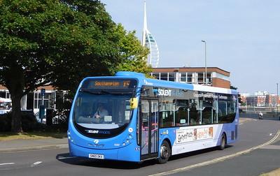 First Solent 63297 - SN65OKX - Gosport (bus station)