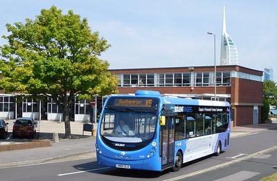 First Solent 63300 - SN65OLB - Gosport (bus station)