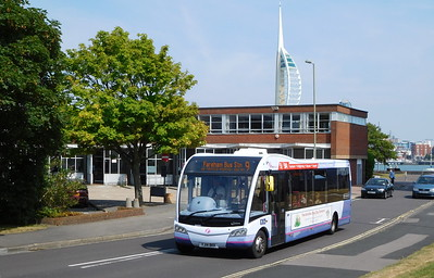 First Solent 53606 - YJ14BKK - Gosport (bus station)